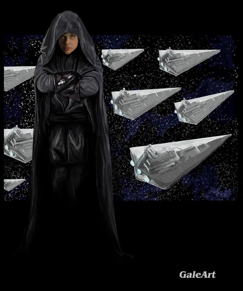 Dark Side Luke Skywalker by Galeart on DeviantArt