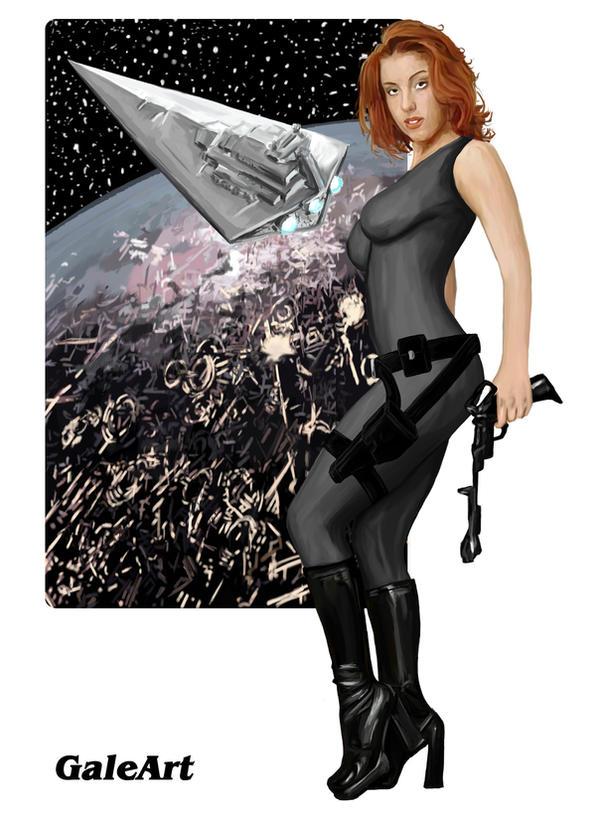 Mara Jade Skywalker by Galeart