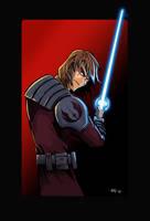 Anakin Skywalker by Galeart