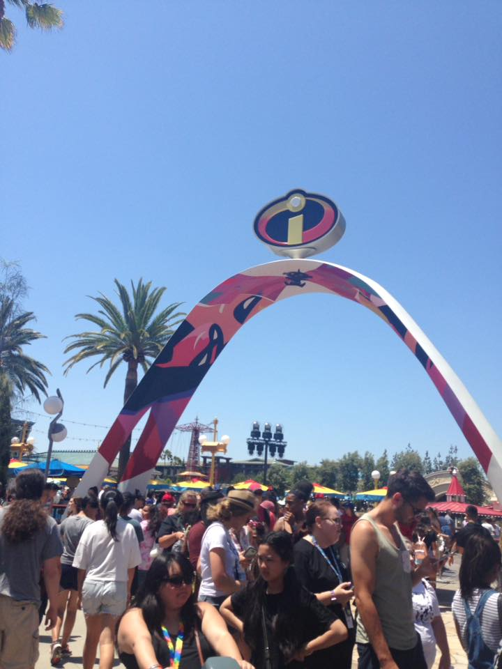 The Incredicoaster At Pixar Pier Disneyland by HavingHope5