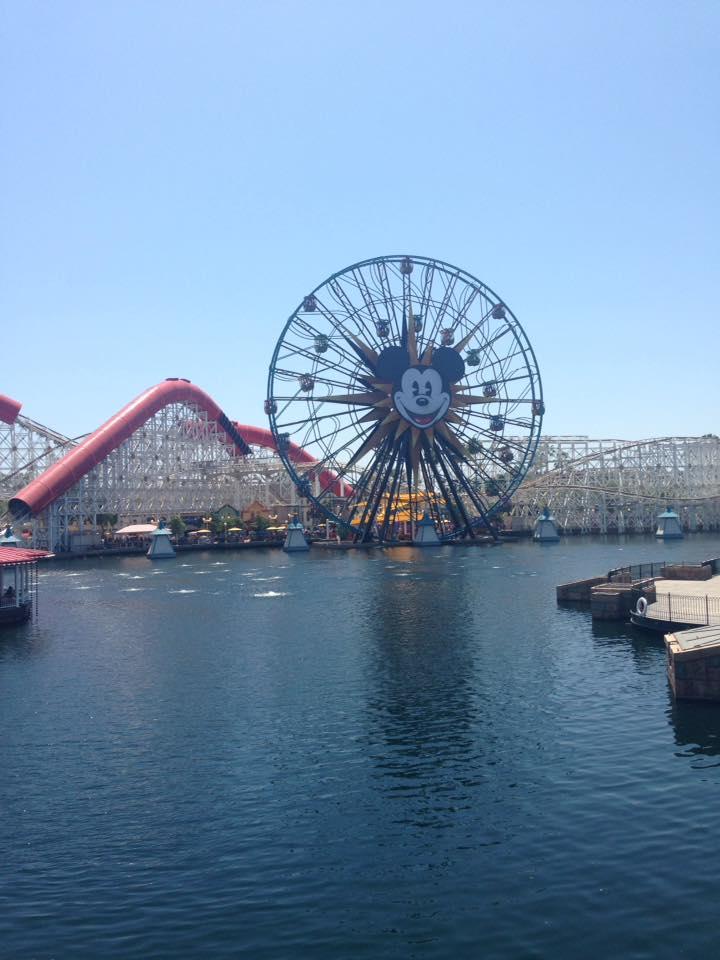 Paradise Pier Mickey Ferris Wheel Disneyland by HavingHope5