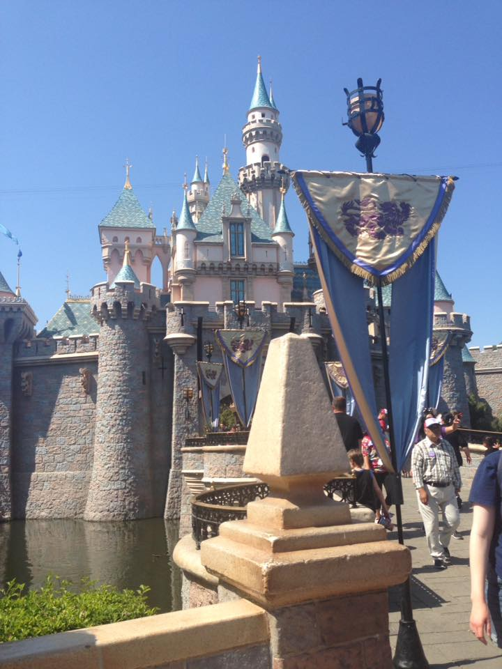 Sleeping Beauty Castle Disneyland by HavingHope5
