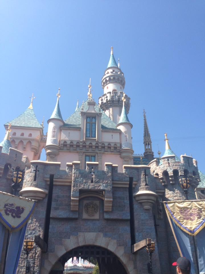 Sleeping Beauty Castle Disneyland 3 by HavingHope5