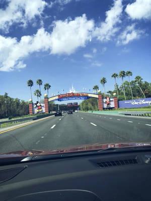 Walt Disney World Entrance by HavingHope5