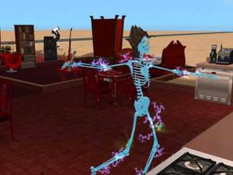 Roasting Sims by Azmidiske