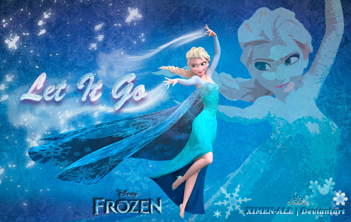 Let It Go Queen Elsa Wallpaper By XIMEN ALE