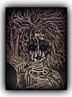 Edward Scissorhands by customchaosart