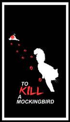 To Kill a Mocking Bird. Cat themed minimalist