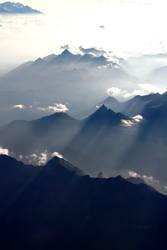 The alps from heaven by kulenamole