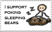 support poking sleeping bears by naruto-school-days