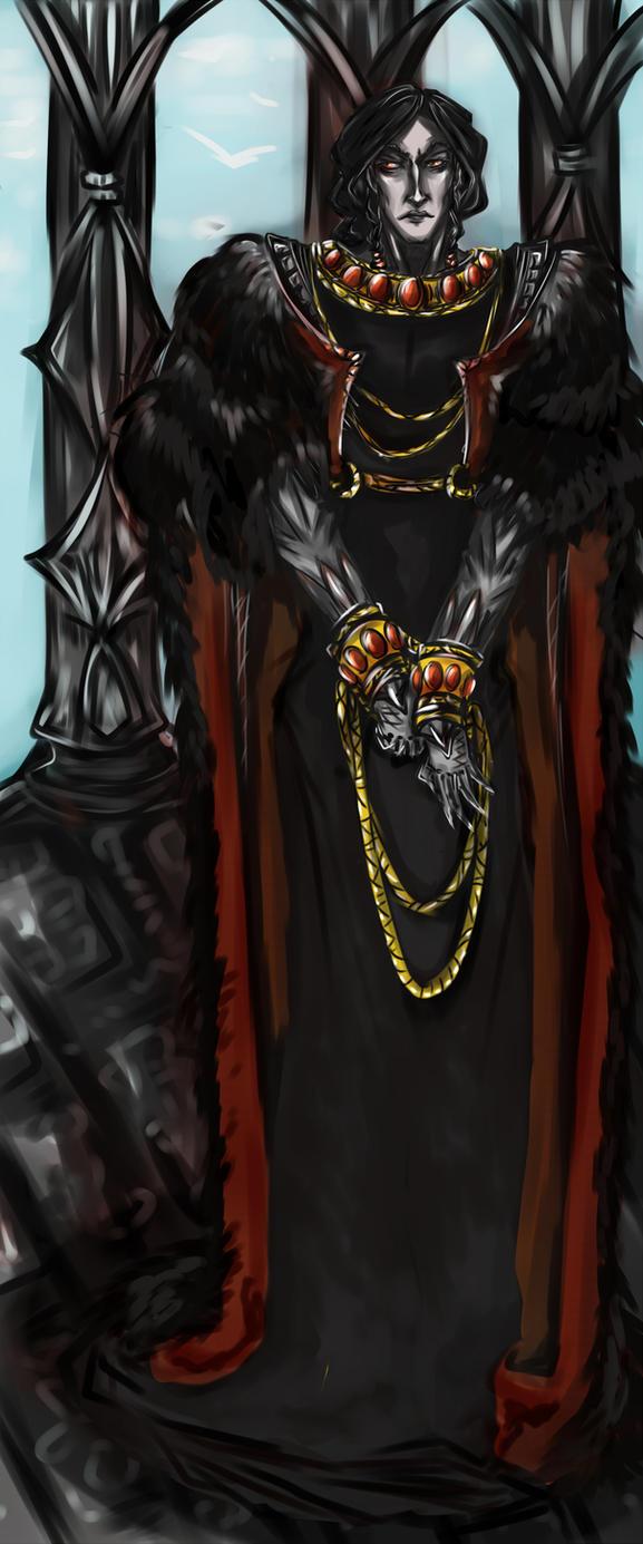 Sauron in Numenor by Saj-jie