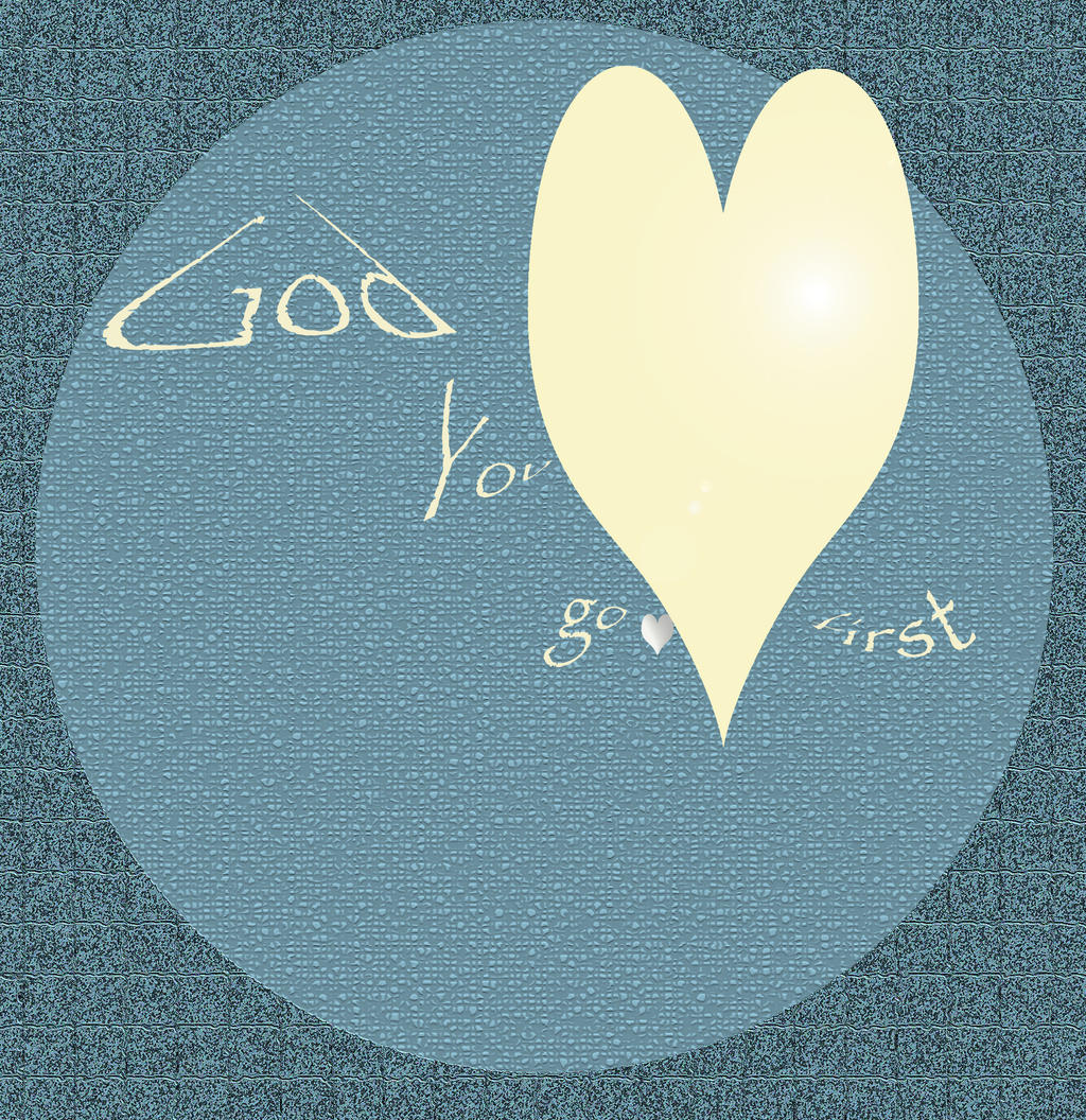 God You go first by Armahda