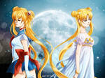 Sailor Moon and Serenity