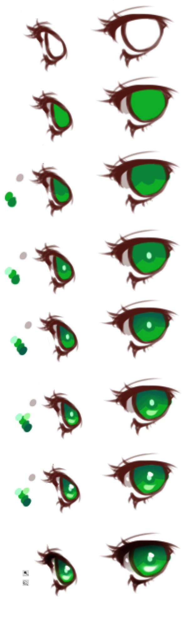 Anime Eyes Coloring Tutorial by HaloBlaBla on DeviantArt