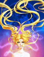 Usagi/Sailor Moon by HaloBlaBla