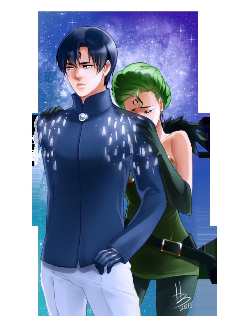 Saphire and Petz by HaloBlaBla