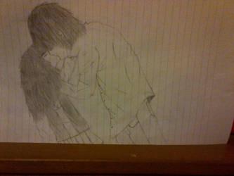 manga couple  by NerdyScot