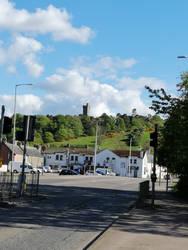 Tulloch Castle from Afar - Dingwall