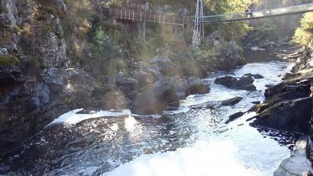 Summer at Rogie Falls