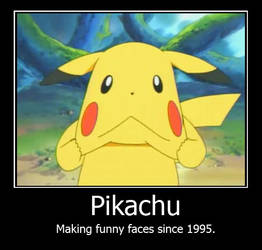 pikachu funny faces by picklegal1