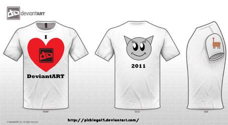 I heart DeviantART by picklegal1