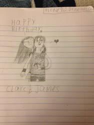 Happy Birthday James m/ by picklegal1