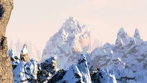 Blender Mountain Landscape