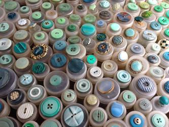 Buttons 3 - Aqua