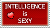 Intelligence is Sexy by debbieART