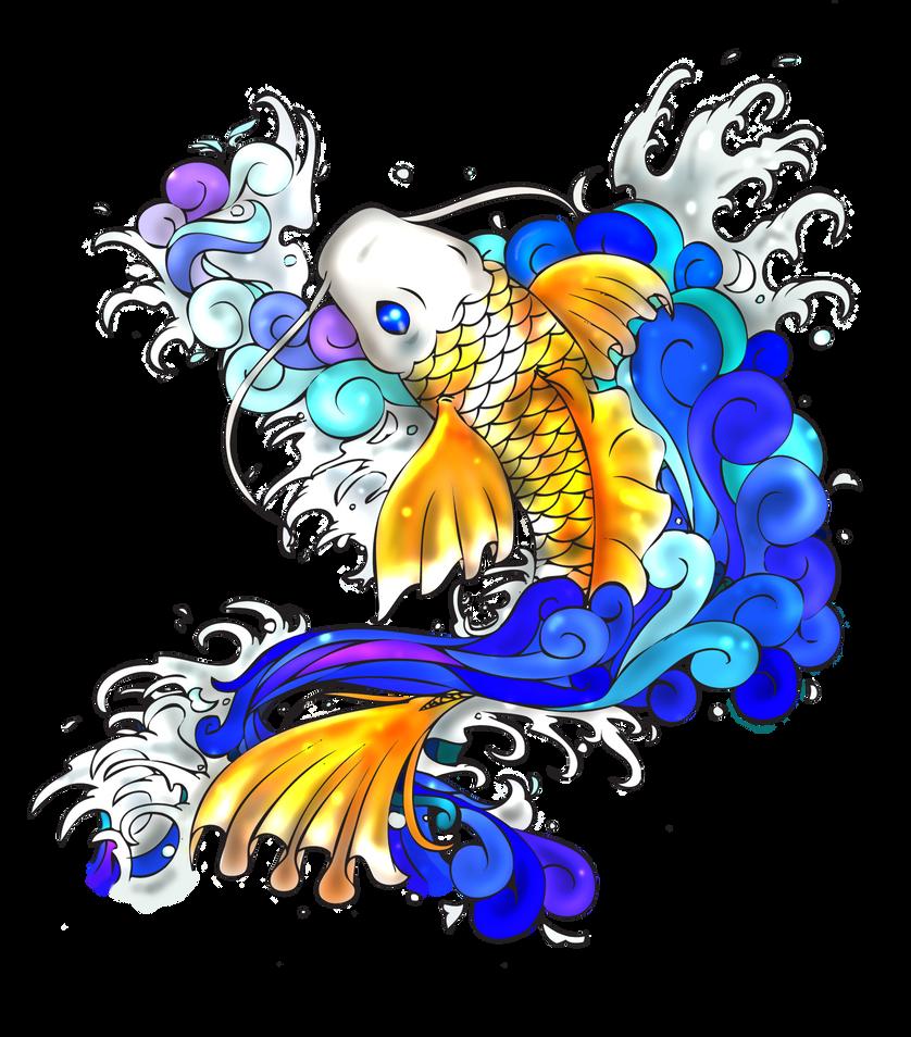 Koi Fish by MoonlitMemories