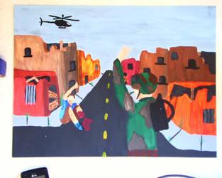 iraq war zone by chelseamason7