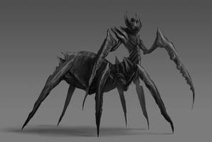 Demon Spider Design by BABAGANOOSH99