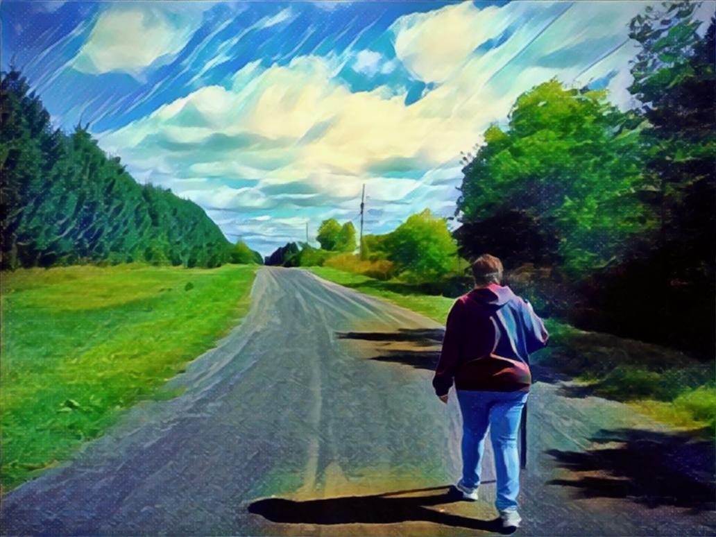 Traveller by Schvenn