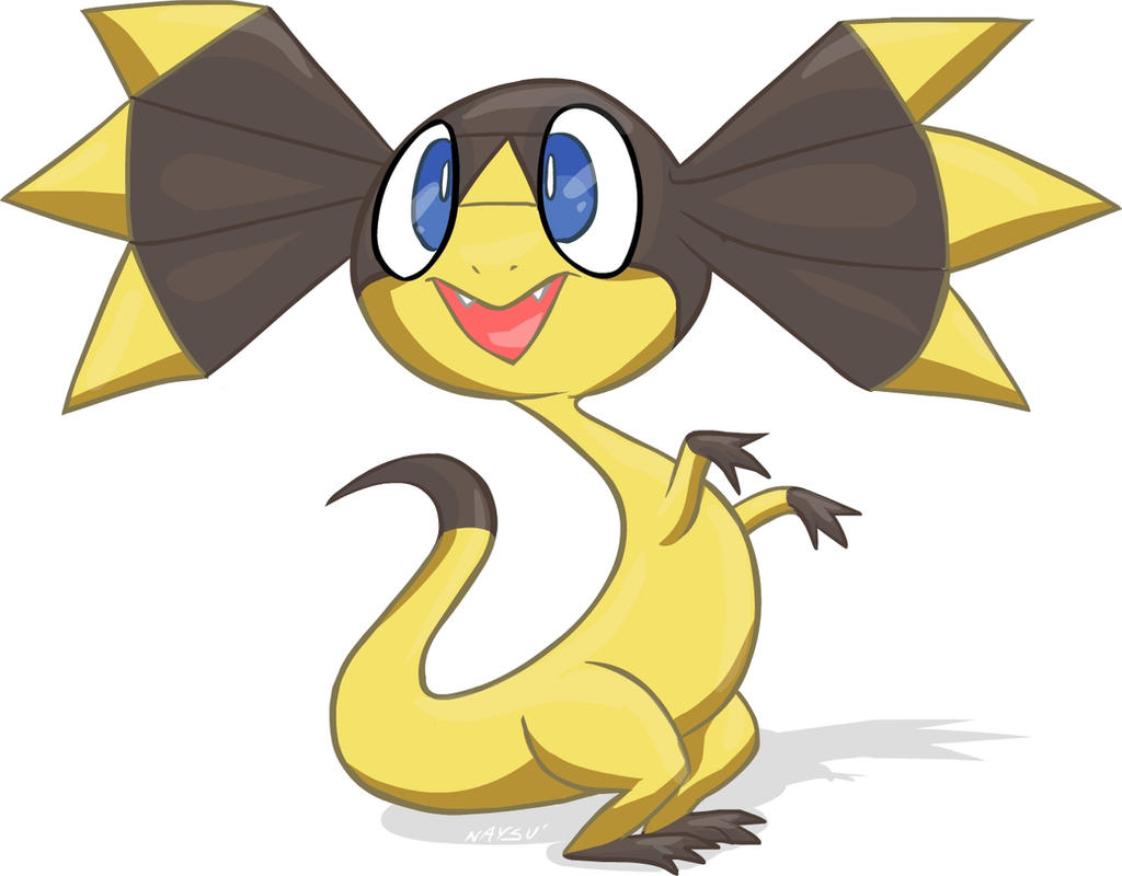 Pokemon coloring pages helioptile - Helioptile Elikiteru The Frilled Lizard Pokemon By Naysu On Deviantart