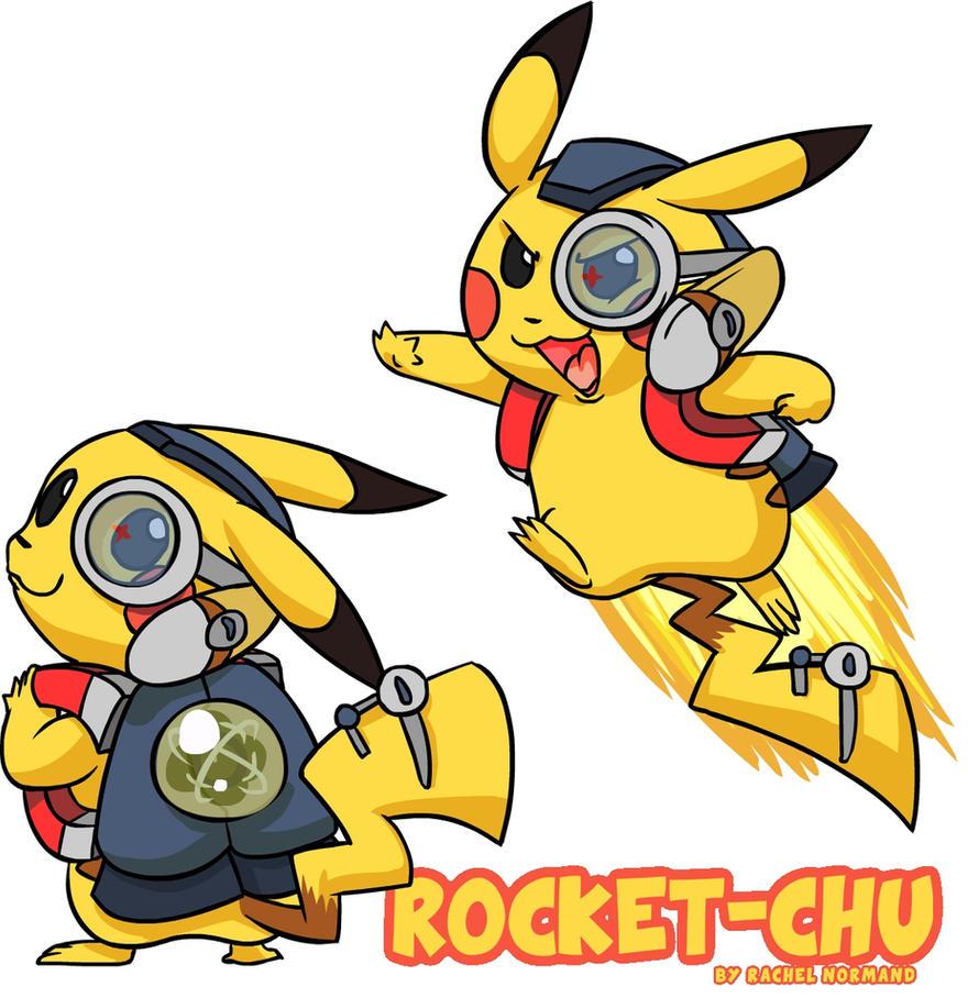 Rocket-Chu by naysu