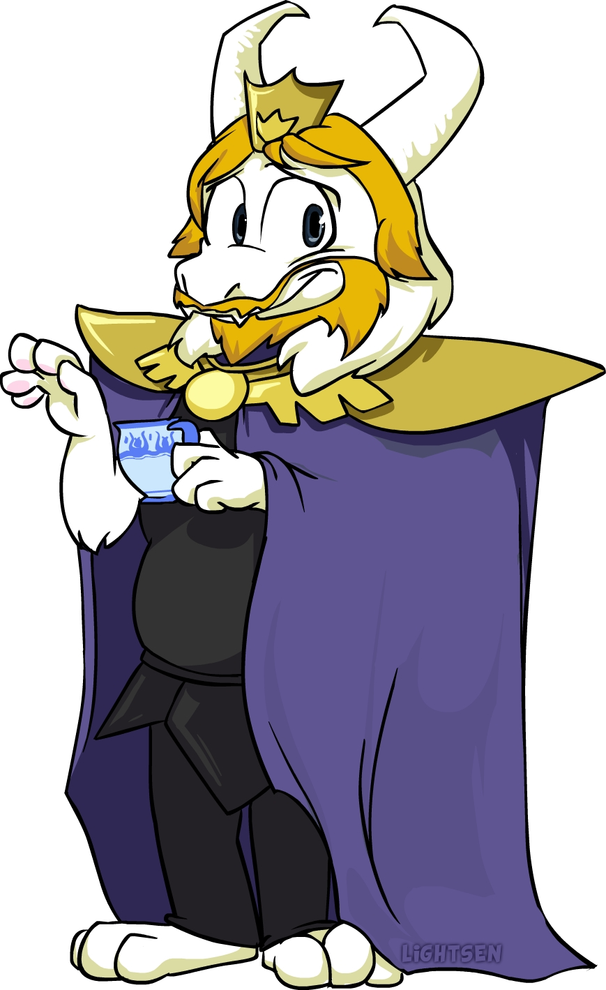 Asgore The Adorable By Naysu On DeviantArt
