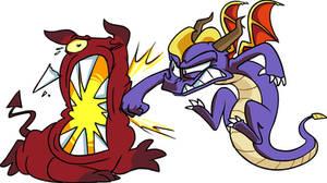 EPIC Spyro Punch!