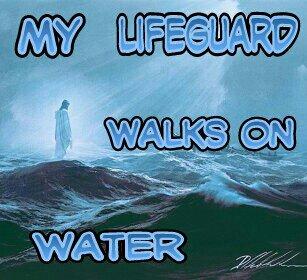 My LifeGuard walks on water by AussieJimfan on DeviantArt