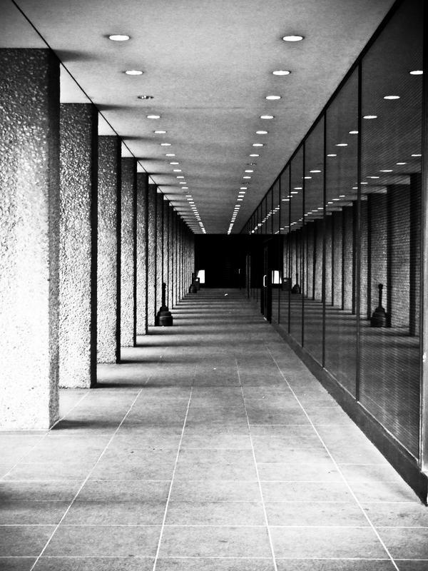 Hallway by Krida-Yoru