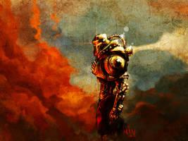 Steampunk Cylon by daleicious