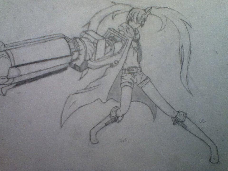 Black Rock Shooter by ValkyrieChain