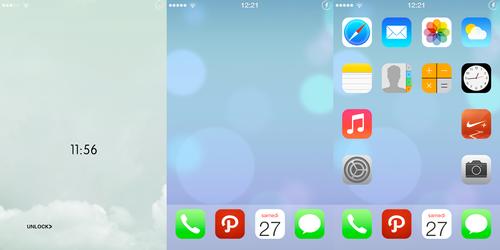 My first iPhone screenshot