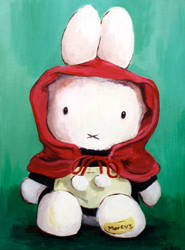 Red Hood Miffy by horo1116