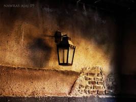 traditional lamp by nawrasajaj