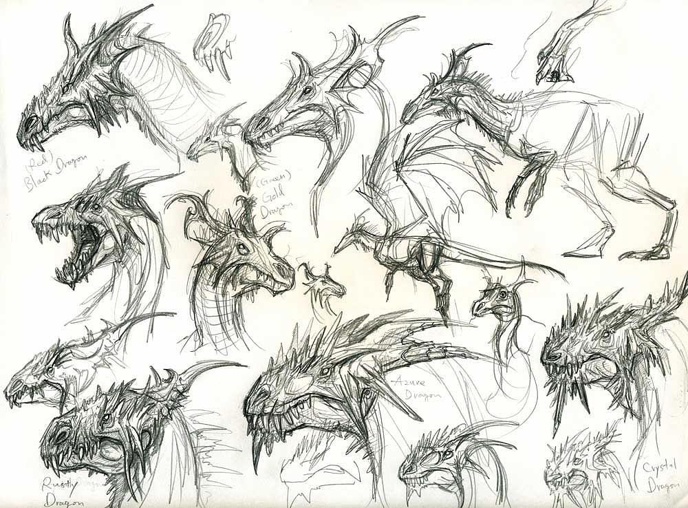 dragon head designs by yty2000