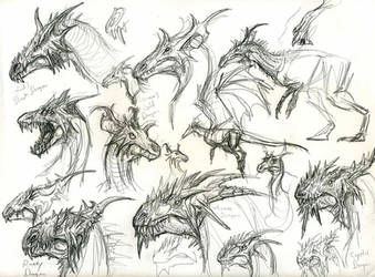dragon head designs by yty2000