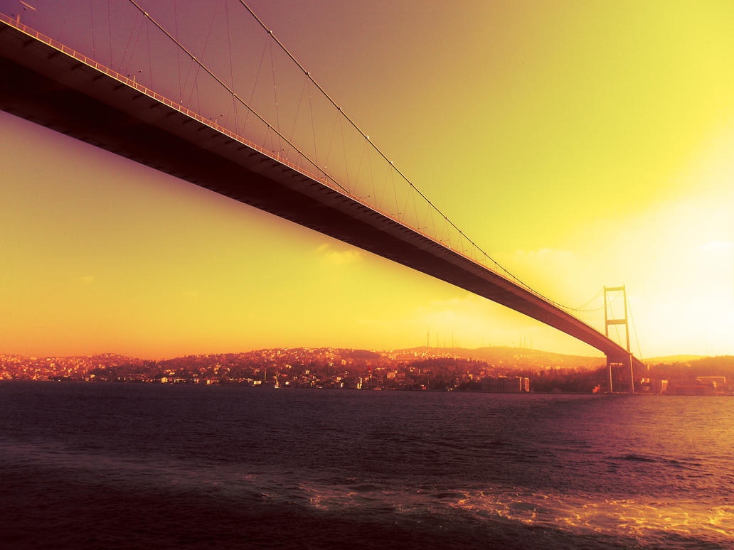 The Bosphorus Bridge by Kalca