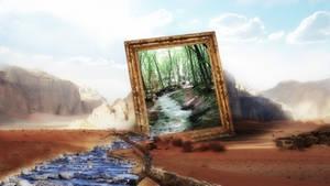 Frame of Desert Dreams