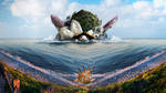 Turtle Island by Kalca