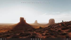 Windows 10 with Rocket Dock